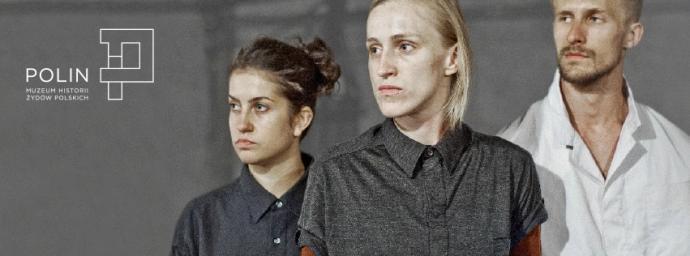 """Zdjęcie: Warszawa/POLIN: Konrad Smoleński i Noa Shadur """"Field Survey"""" – film"""