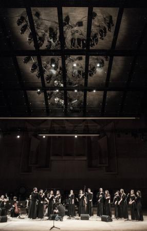 """Zdjęcie: Łódź/III Retroperspektywy 2014: Teatr Chorea """"Gilgamesz"""" – muz. Tomasz Krzyżanowski"""