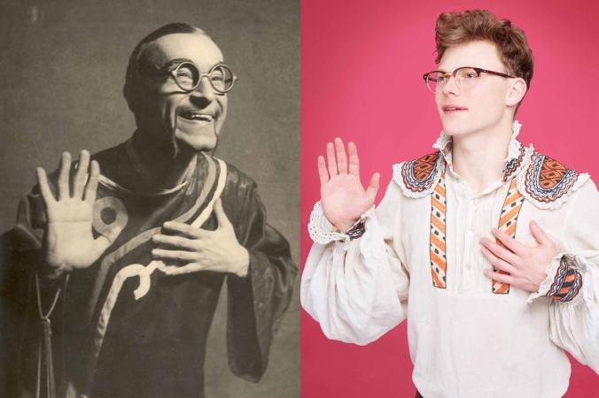 "Zdjęcie: Lublin/Sympozjum ""IDENTITY.MOVE!"": Florin Flueras, Brynjar Bandlien ""hammer without a master""/ ""Romanian Dance History VIII"""