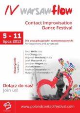 Zdjęcie: Międzynarodowy Festiwal Kontakt Improwizacji Warsaw Flow