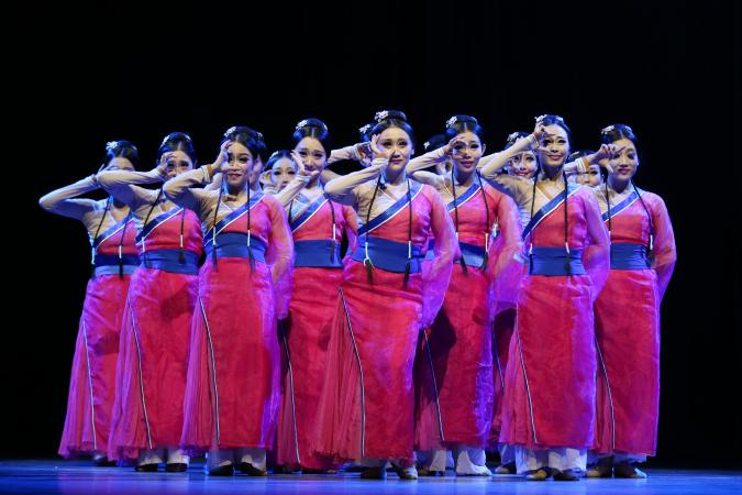 """Zdjęcie: Lublin/Centrum Spotkania Kultur: Beijing Dance Academy """"Chiński Nowy Rok – Guo Feng"""""""